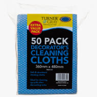 Turner & Gray Decorator's Cleaning Cloths 50pk