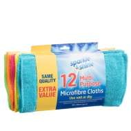 Microfibre Dishcloths 12pk