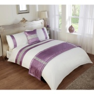 Diamante Double Bed in a Bag Set
