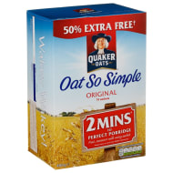 Quaker Oat So Simple 486g - Original