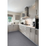 Grey Granite Effect Vinyl Flooring 2 x 3m Pack