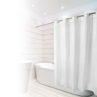 Beldray Hookless Shower Curtain - Jacquard