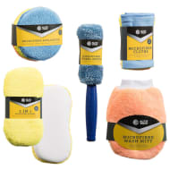 Auto Tech Microfibre Car Cleaning Kit 9pk