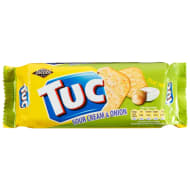 Jacob's Tuc Crackers - Sour Cream & Onion 100g