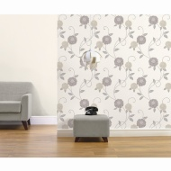 Zara Motif Wallpaper - Neutral