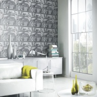 Arthouse Upcycle Wallpaper - Mono