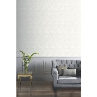 Arthouse Lucille Glitter Wallpaper - Pearl