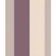 Superfresco Java Stripe Wallpaper - Plum