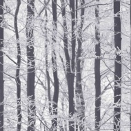 Arthouse Frosted Wood Wallpaper - Silver