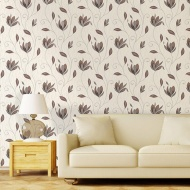 Vymura Synergy Motif Wallpaper - Chocolate