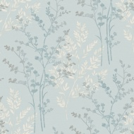 Arthouse Fern Motif Wallpaper - Teal