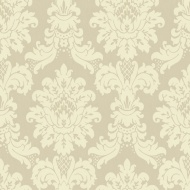 Arthouse Messina Damask Wallpaper - Gold