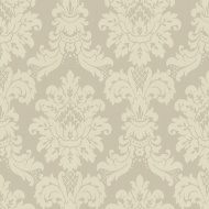 Arthouse Messina Damask Wallpaper - Silver