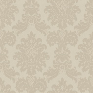 Arthouse Messina Damask Wallpaper - Taupe