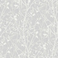 Arthouse Bosco Wallpaper - Silver