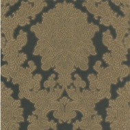 Arthouse Vicenza Damask Wallpaper - Black