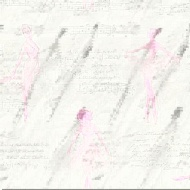 Arthouse Pirouette Wallpaper - Pink