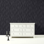 Arthouse Glitz Wallpaper - Black