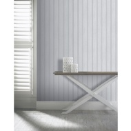 Arthouse Tongue & Groove Wallpaper - Grey