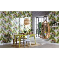 Arthouse Amazonia Gloss Wallpaper - Citrus