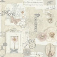 Arthouse Felicity Wallpaper - Natural