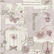Arthouse Felicity Wallpaper - Soft Pink