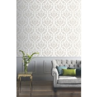 Arthouse Lucca Glitter Wallpaper - Mocha