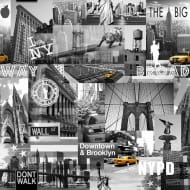 Muriva Art Gallery Wallpaper - Big Apple