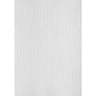 Embossed Weave Wallpaper - White