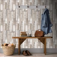 Rasch Planks Wallpaper - Neutral