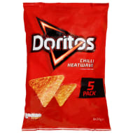 Doritos 5pk - Chilli Heatwave