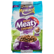 Reward Meaty Chunks Dog Food 1.5kg - Beef