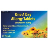 Allergy One A Day Tablets 10mg 30pk