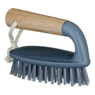 Bamboo Scrubbing Brush - Grey