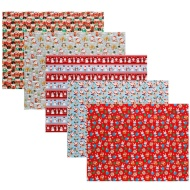 Cute Christmas Wrapping Paper Roll 12m