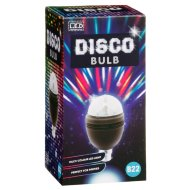 LED Disco Bulb B22 - Black