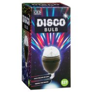 LED Disco Bulb E27 - Black