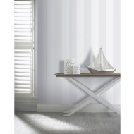 Arthouse Brilliance Stripe Glitter Wallpaper - Silver