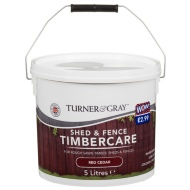 Turner & Gray Shed & Fence Timbercare Treatment 5L
