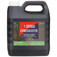 Spear & Jackson Creocote Wood Treatment 4L - Dark Brown