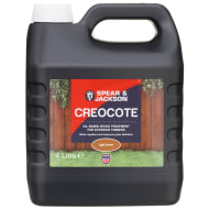 Spear & Jackson Creocote Wood Treatment 4L - Light Brown
