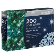 Eveready Ultra Bright LED Chaser Lights 200pk - Cool White
