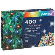 Eveready Ultra Bright LED Chaser Lights 400pk - Multi Colour
