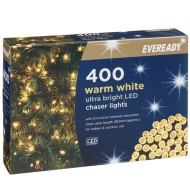 Eveready Ultra Bright LED Chaser Lights 400pk - Warm White