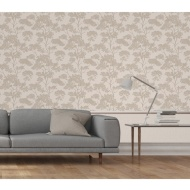 Aspen Sidewall Wallpaper - Beige/Gold
