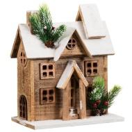 Light Up Wooden Country House