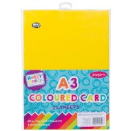Hobby World A3 Coloured Card 20pk