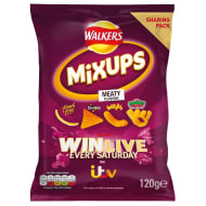 Walkers Mix Up Crisps 120g - Meaty