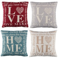 Lacey Chenille Jacquard Cushion