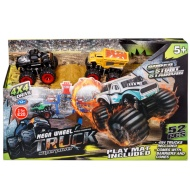Bigfoot Mega Wheel Truck Playset 52pc